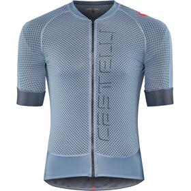Castelli Climber's 2.0 Maglietta jersey con zip frontale Uomo, light/steel blue